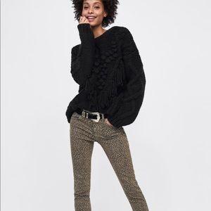 Zara Jeans - 🎃 Zara leopard print jeans